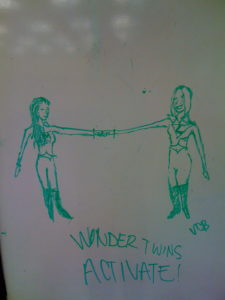 Katie and Folashade, The Wonder Twins!